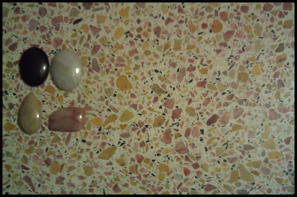 black_gold_white_pink Concrete Mix